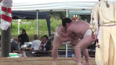 米田地区の根城豊作相撲/チーム中1